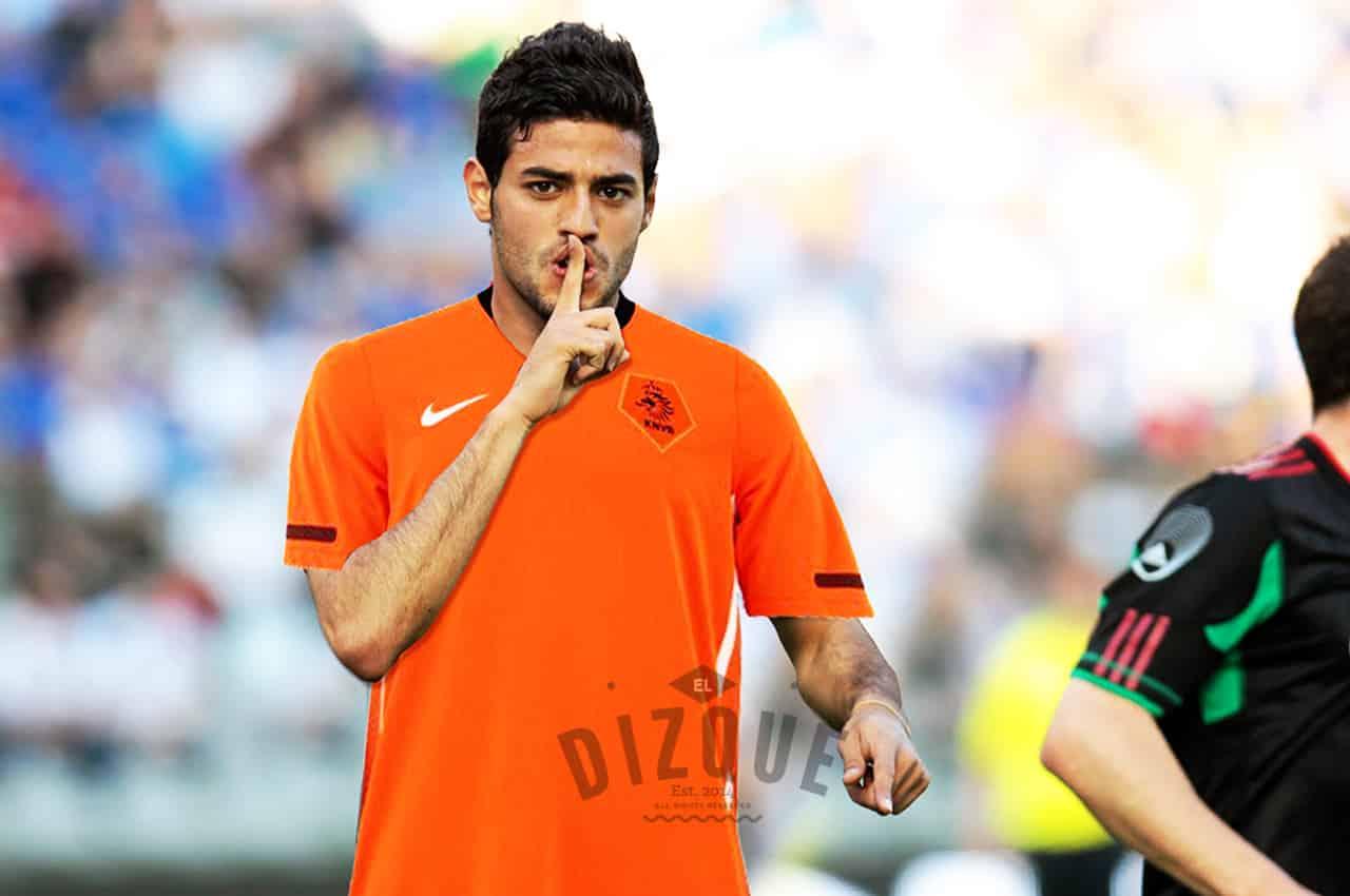 Carlos Vela planea meter tres autogoles en el partido con Holanda 1