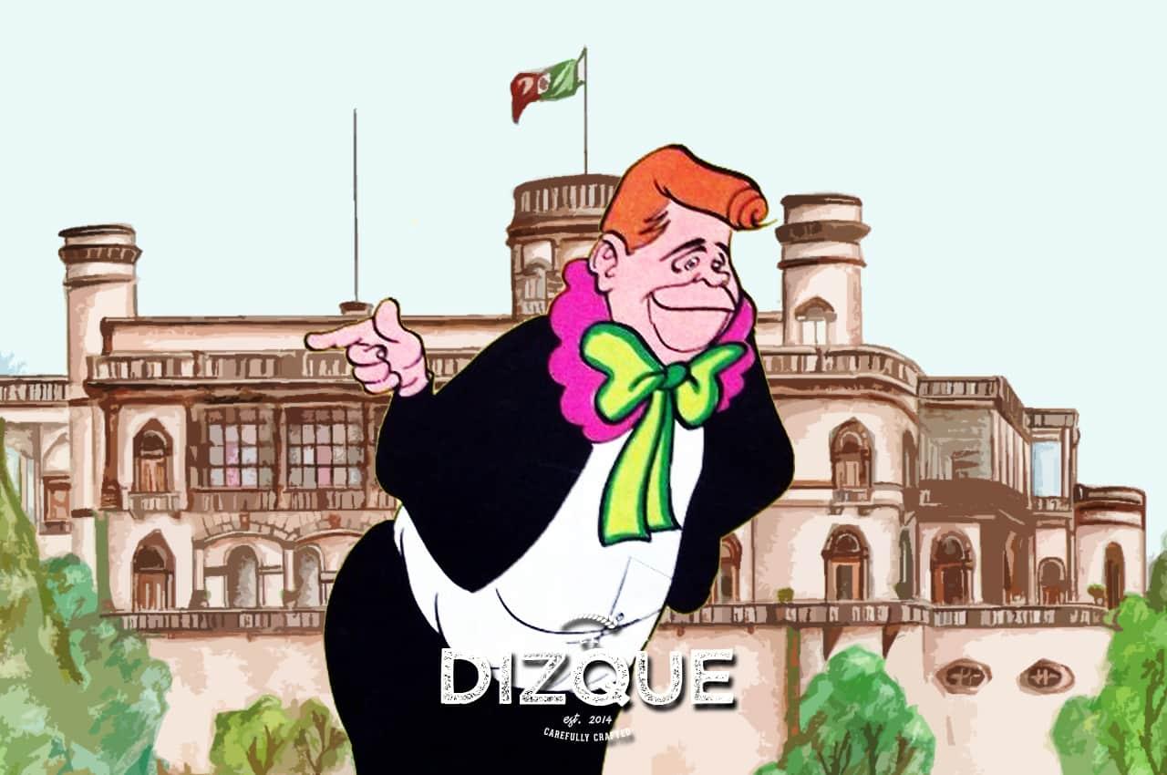 Chabelo es dueño del Castillo de Chapultepec, asegura la CIA 2