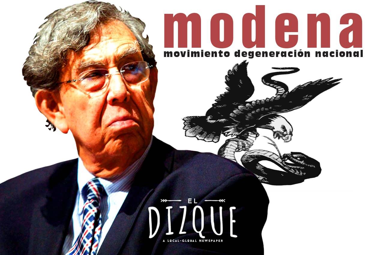 Nace MODENA, Movimiento Degeneración Nacional 3