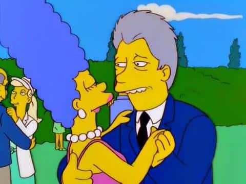 EPN se unirá a muchos políticos de EUA que han aparecido en la serie, como Bill Clinton. ¿También intentará cortejar a Marge?