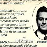 """""""Peñanietear"""", nuevo término del diccionario de la lengua española 4"""