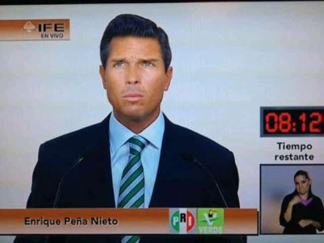 Enrique Palazuelos interpretará nuevamente a su tocayo Peña Nieto.