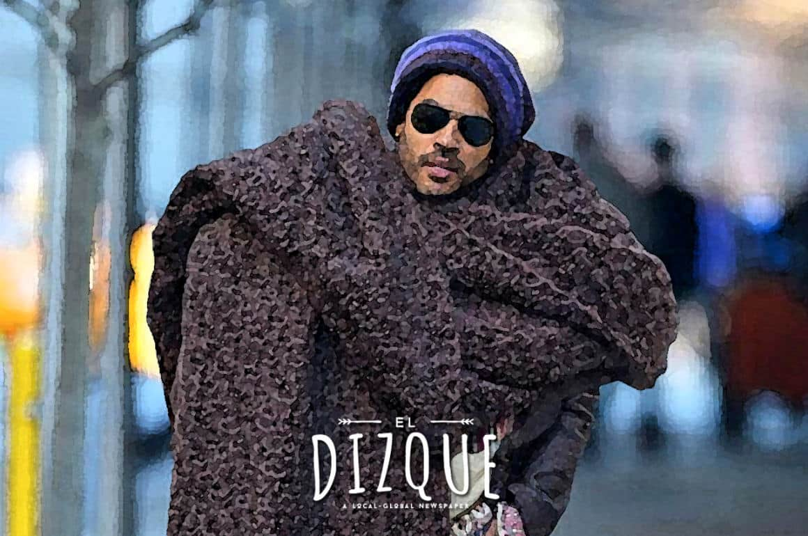 """Lenny Kravitz y el """"balagard couture"""" 10"""