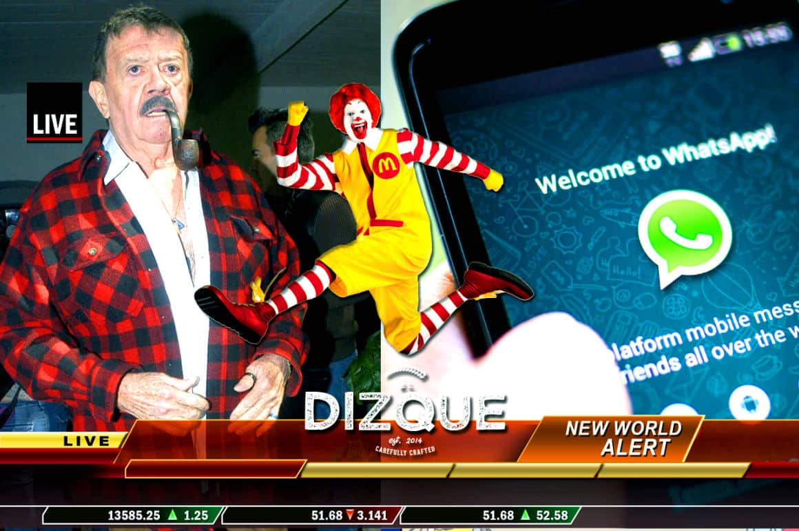 Noticiero Desinformando: Chabelo suspendido... Nueva modalidad de WhatsApp... Comer en McDonalds adelgaza 1