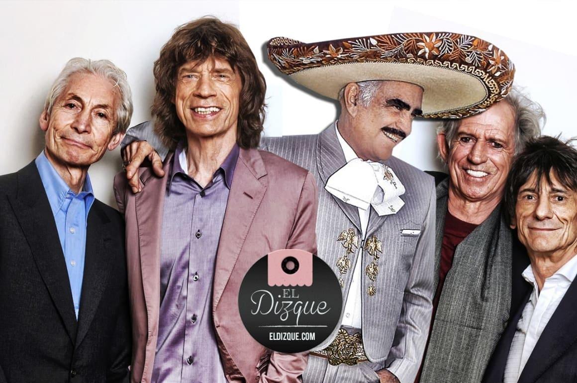Vicente Fernández grabará a duo con los Rolling Stones 5