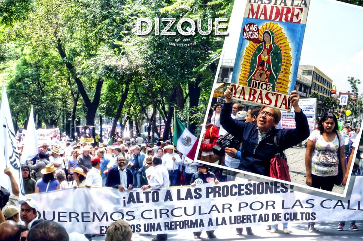 Procesiones vs. Marchas, el encuentro del siglo 1