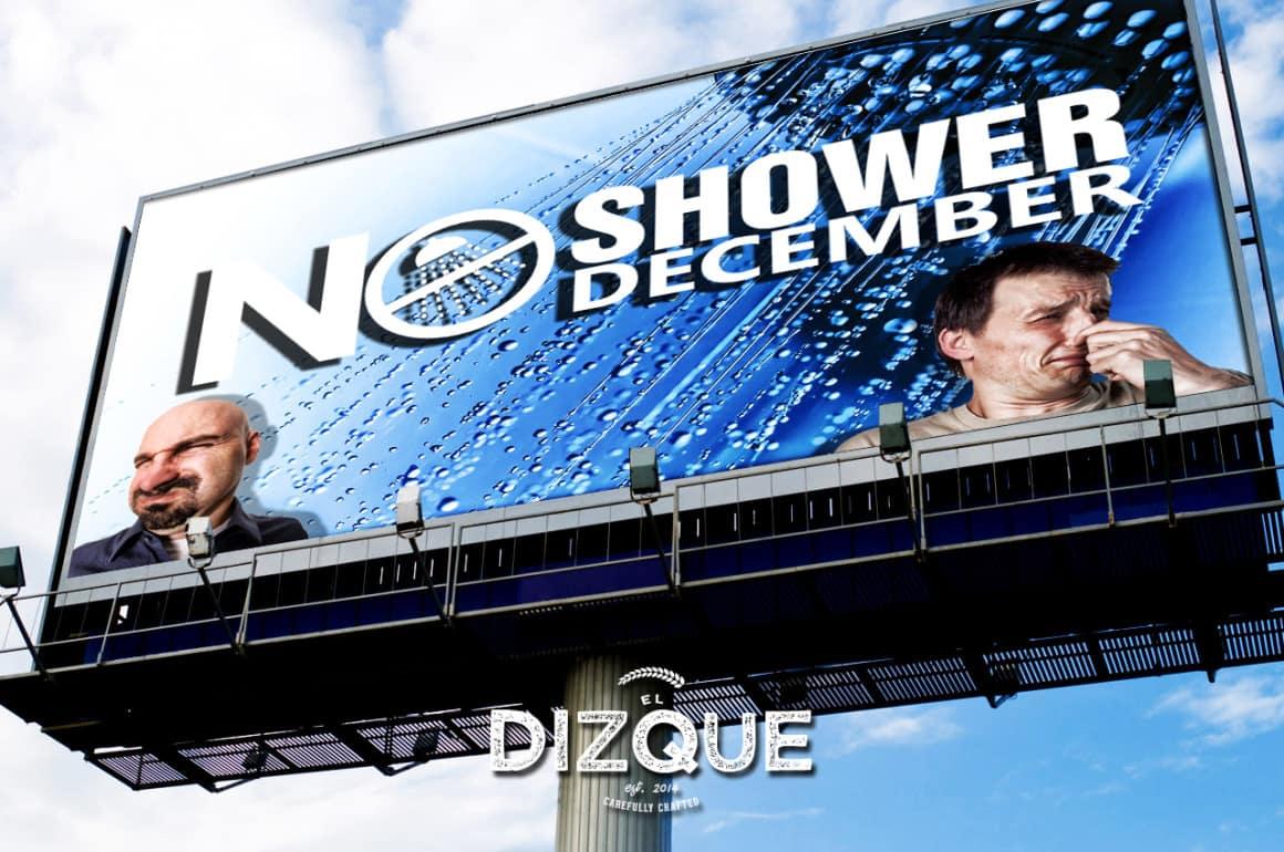"""La SEDESOL invita a toda la población mexicana a unirse al """"No shower december"""" 15"""