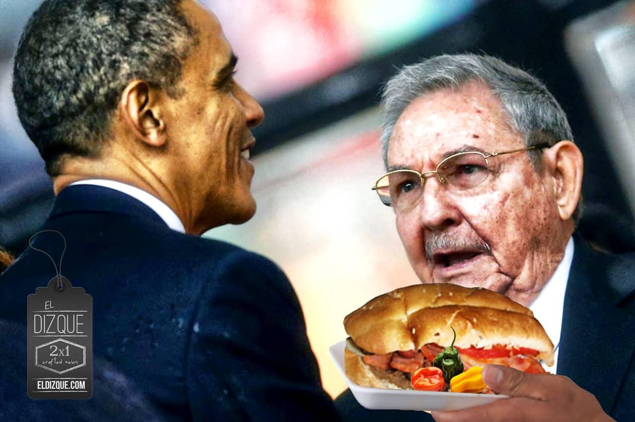 """Raúl Castro le pone sus condiciones a Barak Obama: """"Embargo a las tortas cubanas y los chiles habaneros"""" 3"""
