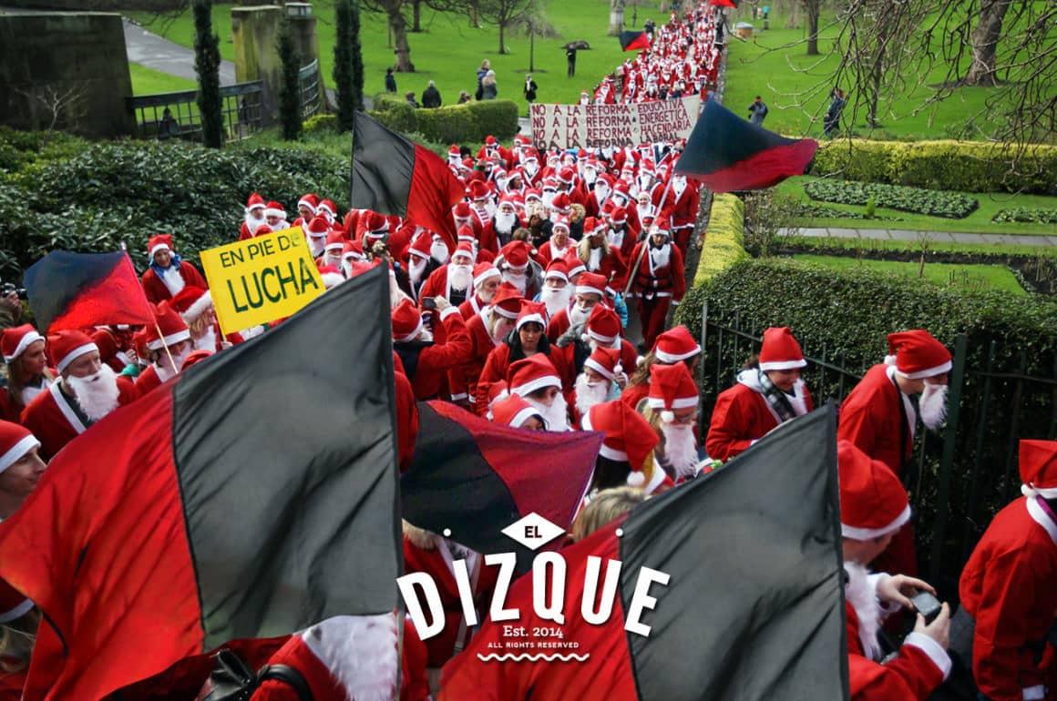 ¡Horror! Los Santa Closes se ponen en huelga 12