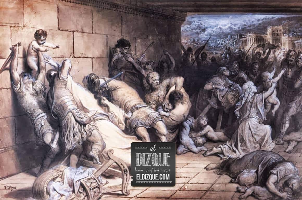 El Rey Herodes promete esclarecer la matanza de los santos inocentes 4