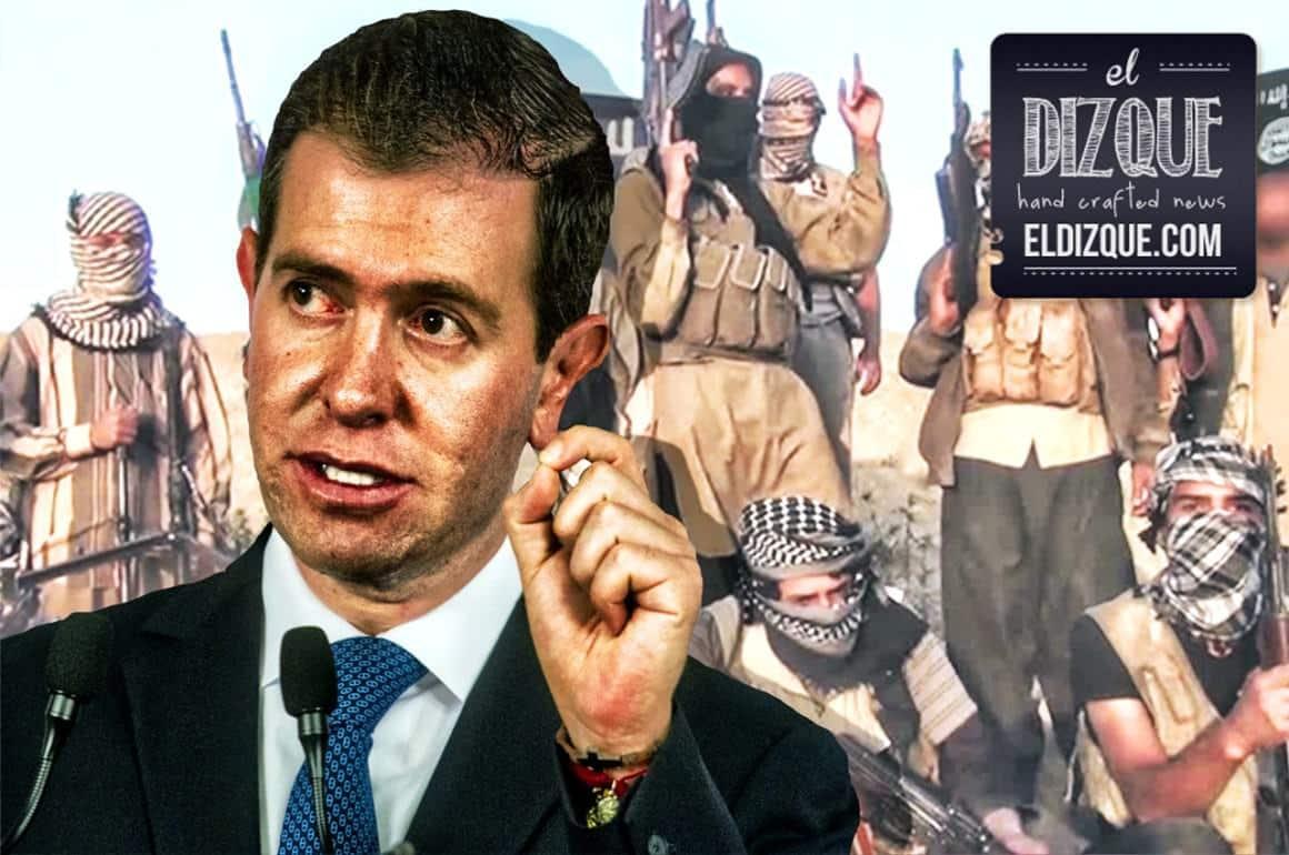 Alfredo Castillo será ahora comisionado para la paz en Siria 1
