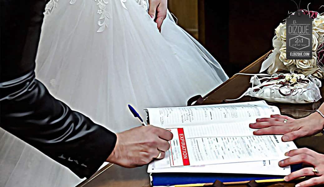 Nueva reforma de Morena: las actas de matrimonio tendrán fecha de caducidad 1