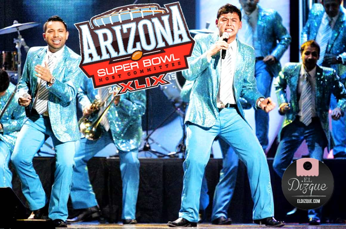 """La Banda """"El Recodo"""" formará parte del espectáculo del Super Bowl 2"""