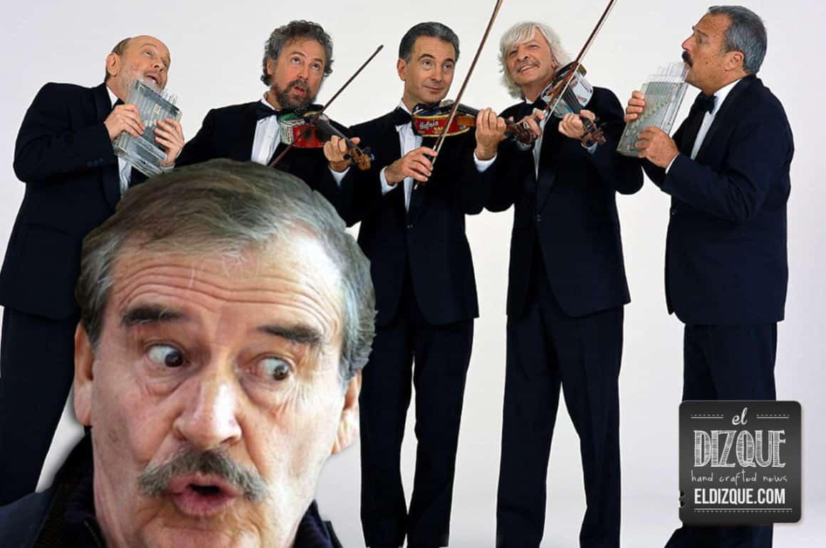 "El expresidente Vicente Fox recuerda a Martin ""Luthiers"" King 1"