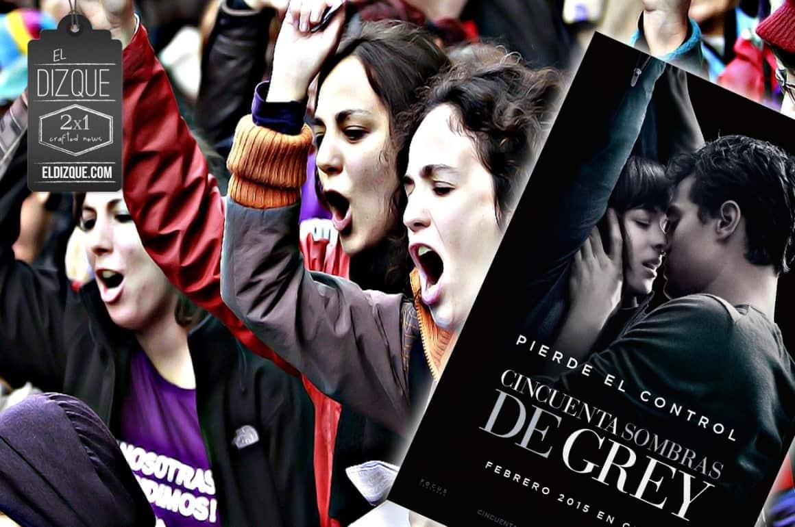 Mujeres decepcionadas de Cincuenta Sombras de Grey anuncian manifestaciones 1