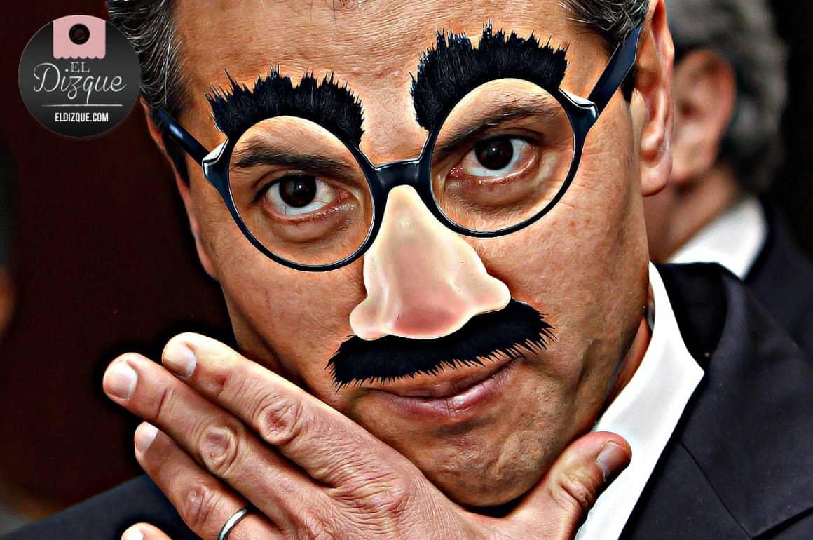 Debido a que Enrique Peña Nieto logró que le aplaudierán, creará el Ministerio de la Risa 1