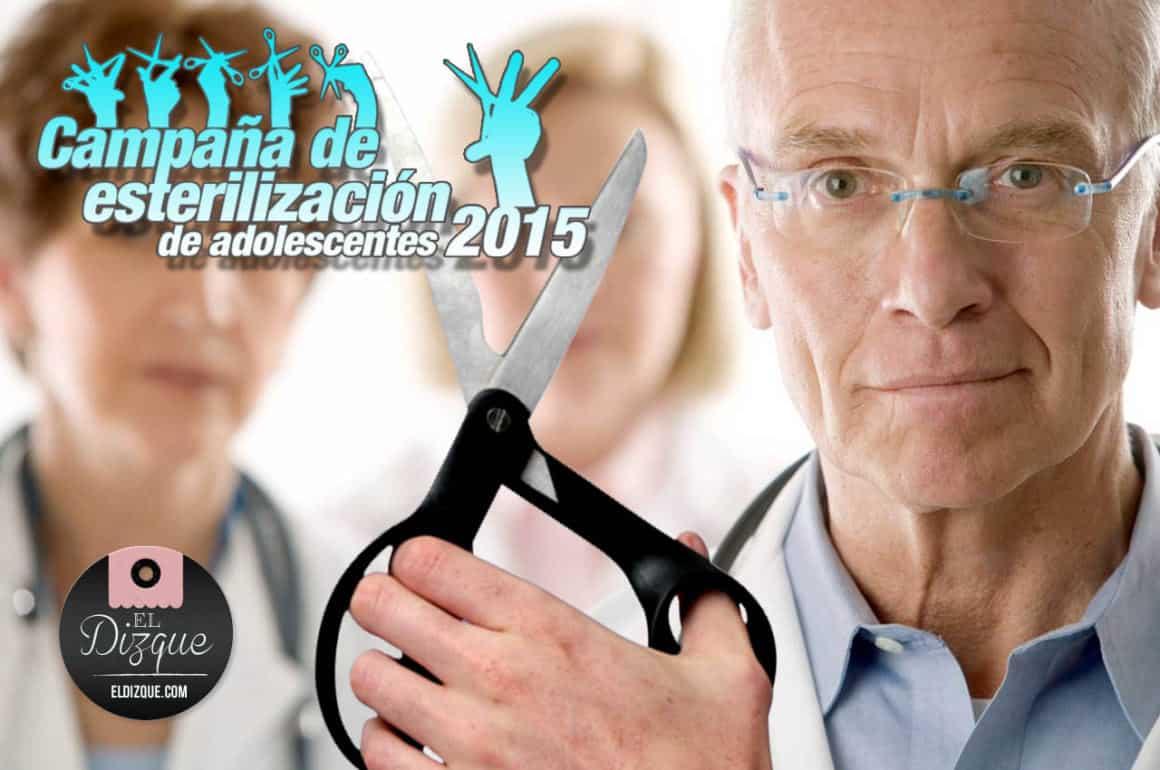Por el 14 de febrero, el Gobierno del DF implementará una campaña de esterilización para adolescentes 18