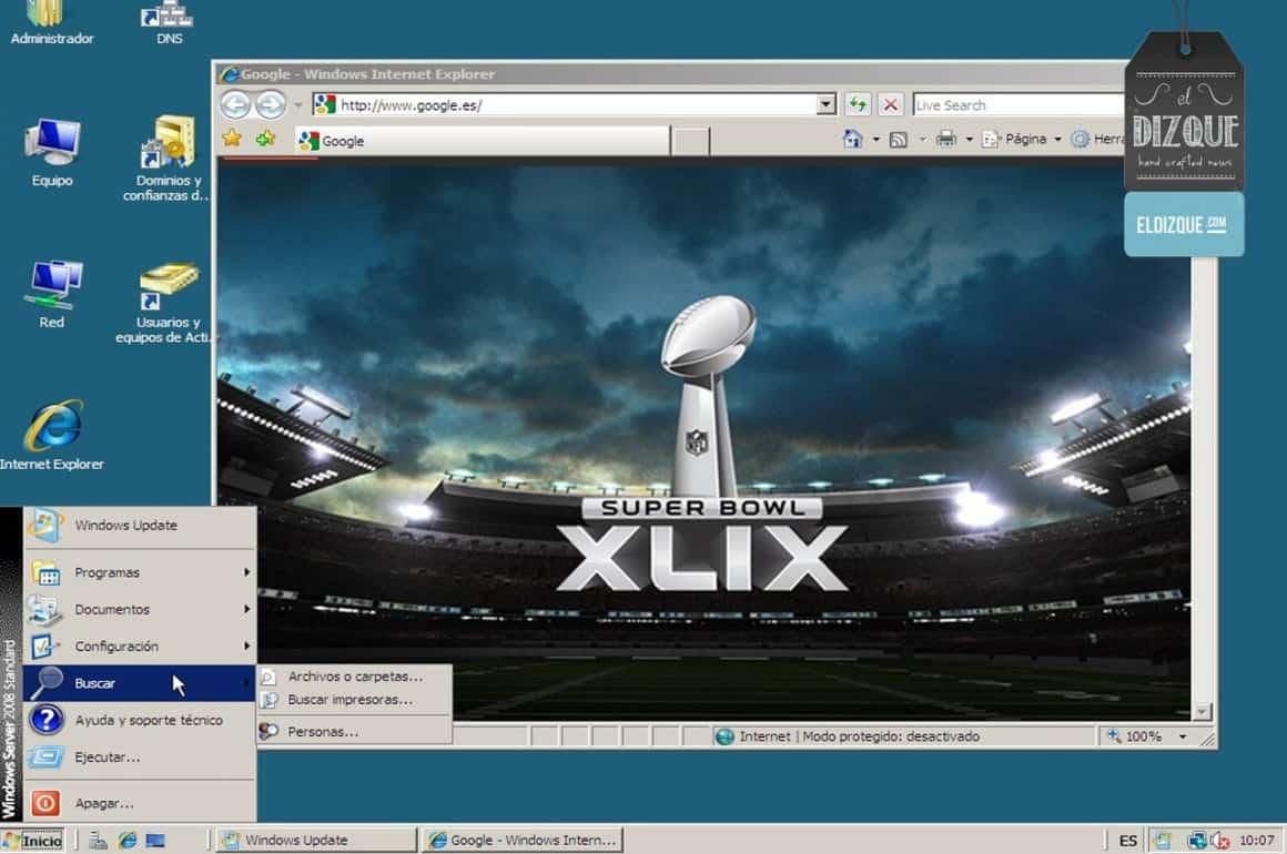Internet Explorer se encuentra listo para la transmisión del Super Bowl XLIX 1