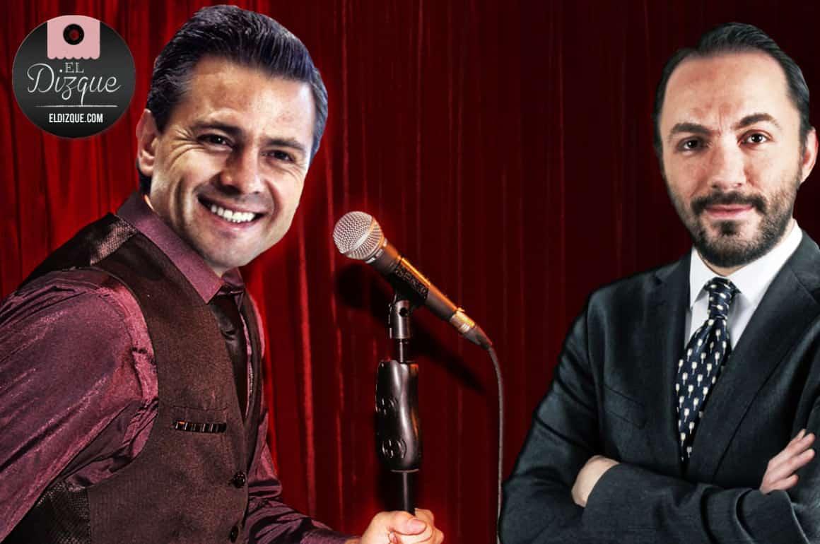 Enrique Peña Nieto tomará curso de stand up comedy con Gon Curiel 1