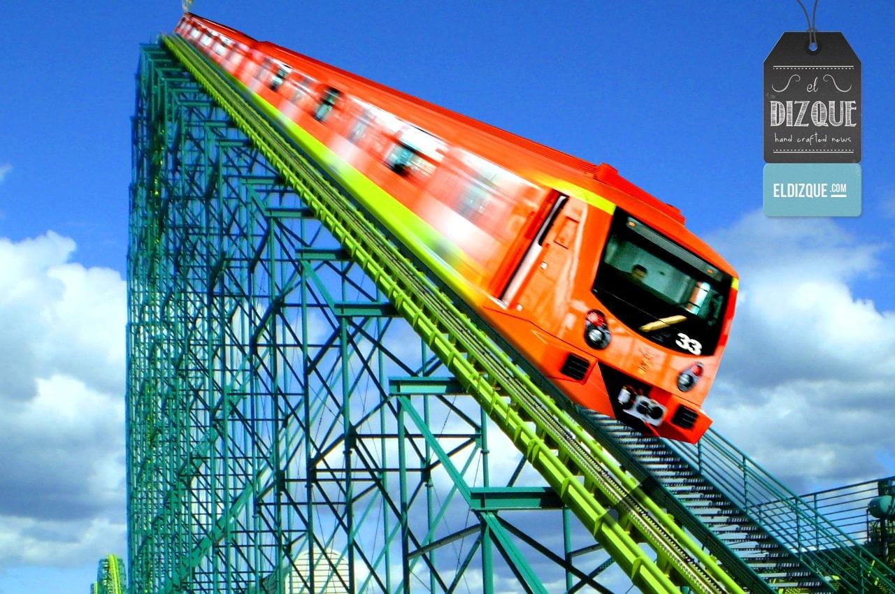 Convertirán a la Línea 12 del metro en la montaña rusa más grande del mundo 8