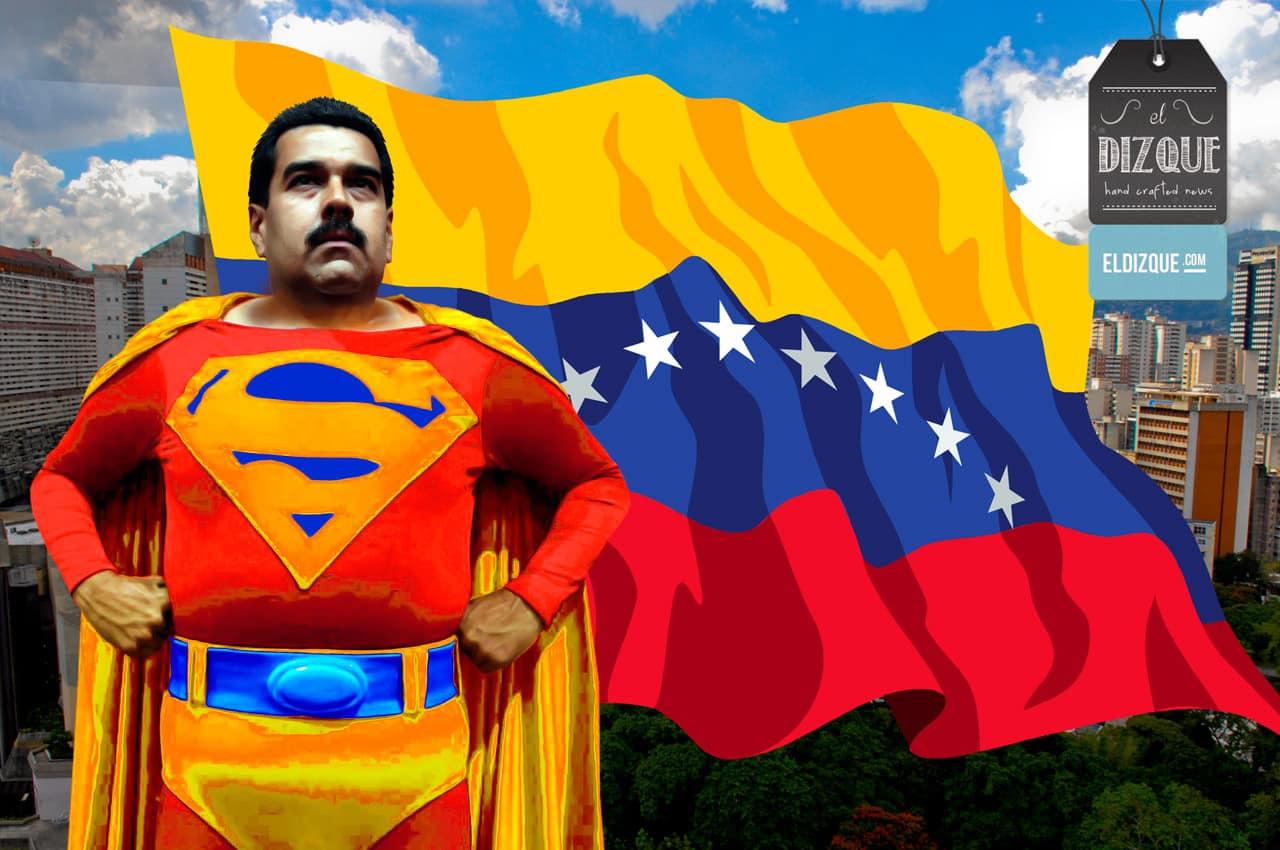 Nicolás Maduro recibirá poderes especiales de Supermán 1