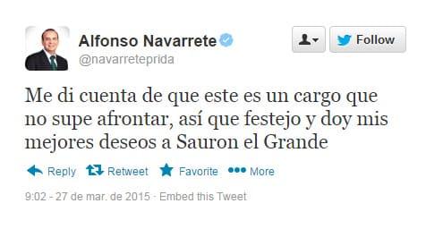 Twitter Alfonso Navarrete