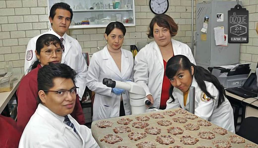 Estudiantes del IPN demuestran que el vomito humano es el mejor alimento reciclable 7