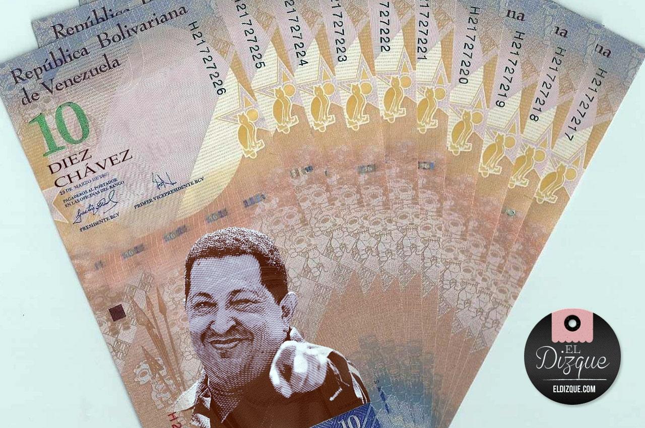 Nicolás Maduro cambia el nombre a la moneda venezolana 10