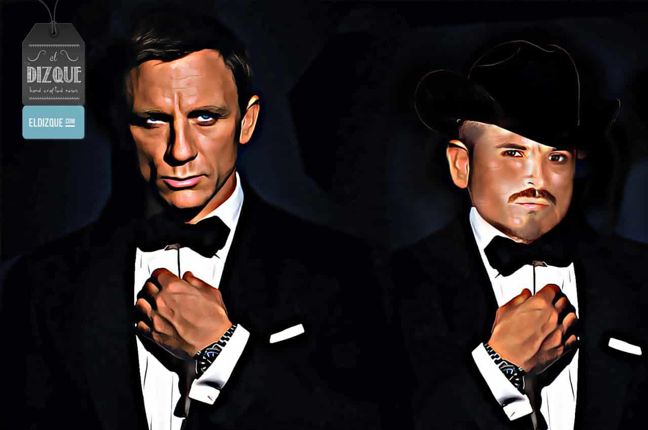 El Komander interpretará el tema de Spectre, la película del Agente 007 2