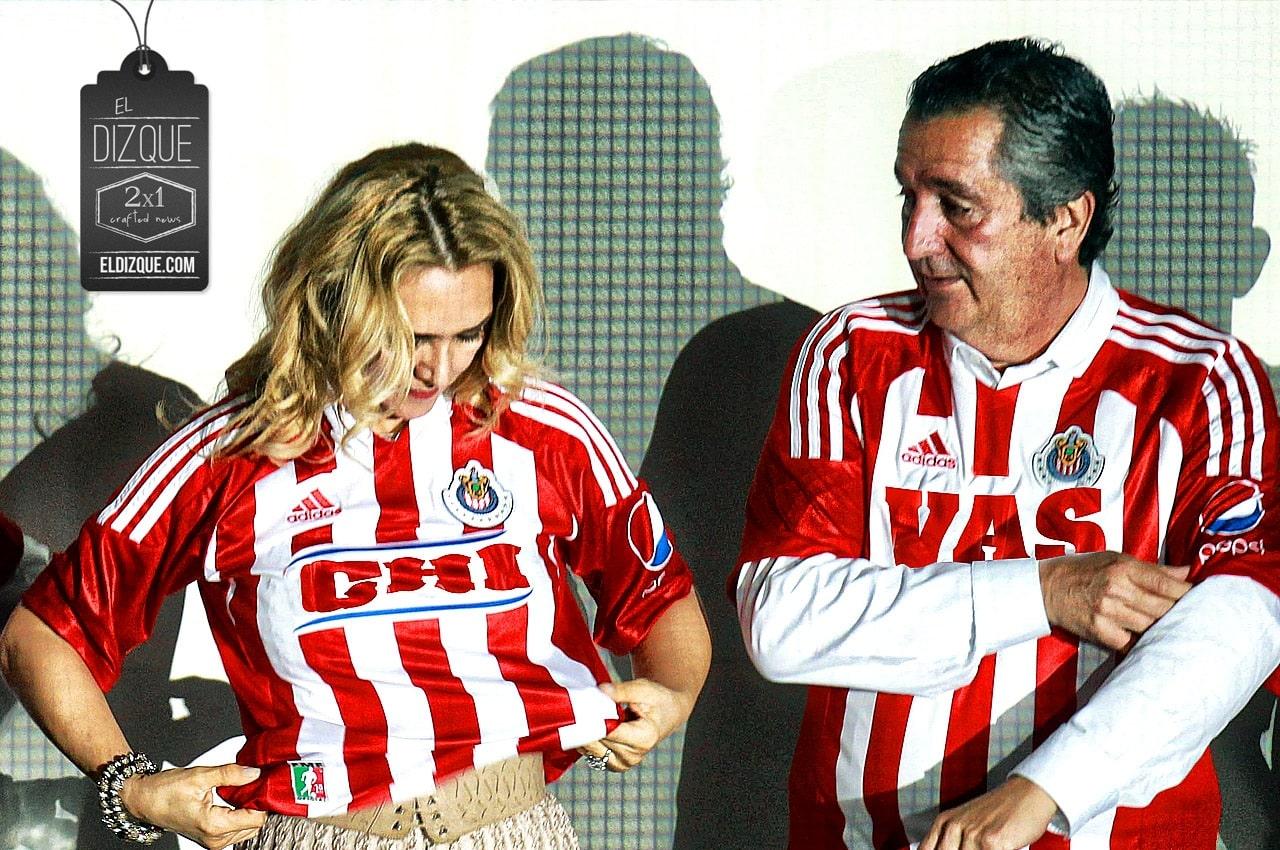 Con su divorcio, Jorge Vergara y su esposa se dividirán hasta a las Chivas 1
