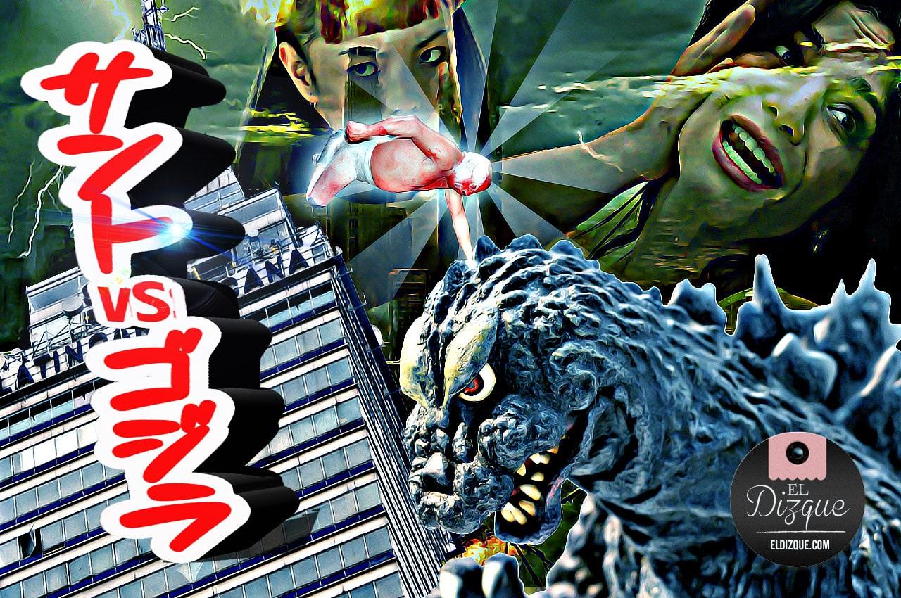 La esperada cinta Santo contra Godzilla tiene luz verde 1