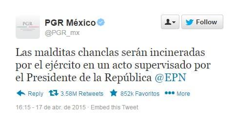 Tweet PGR