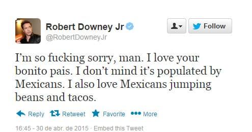 Twitter Downey 2