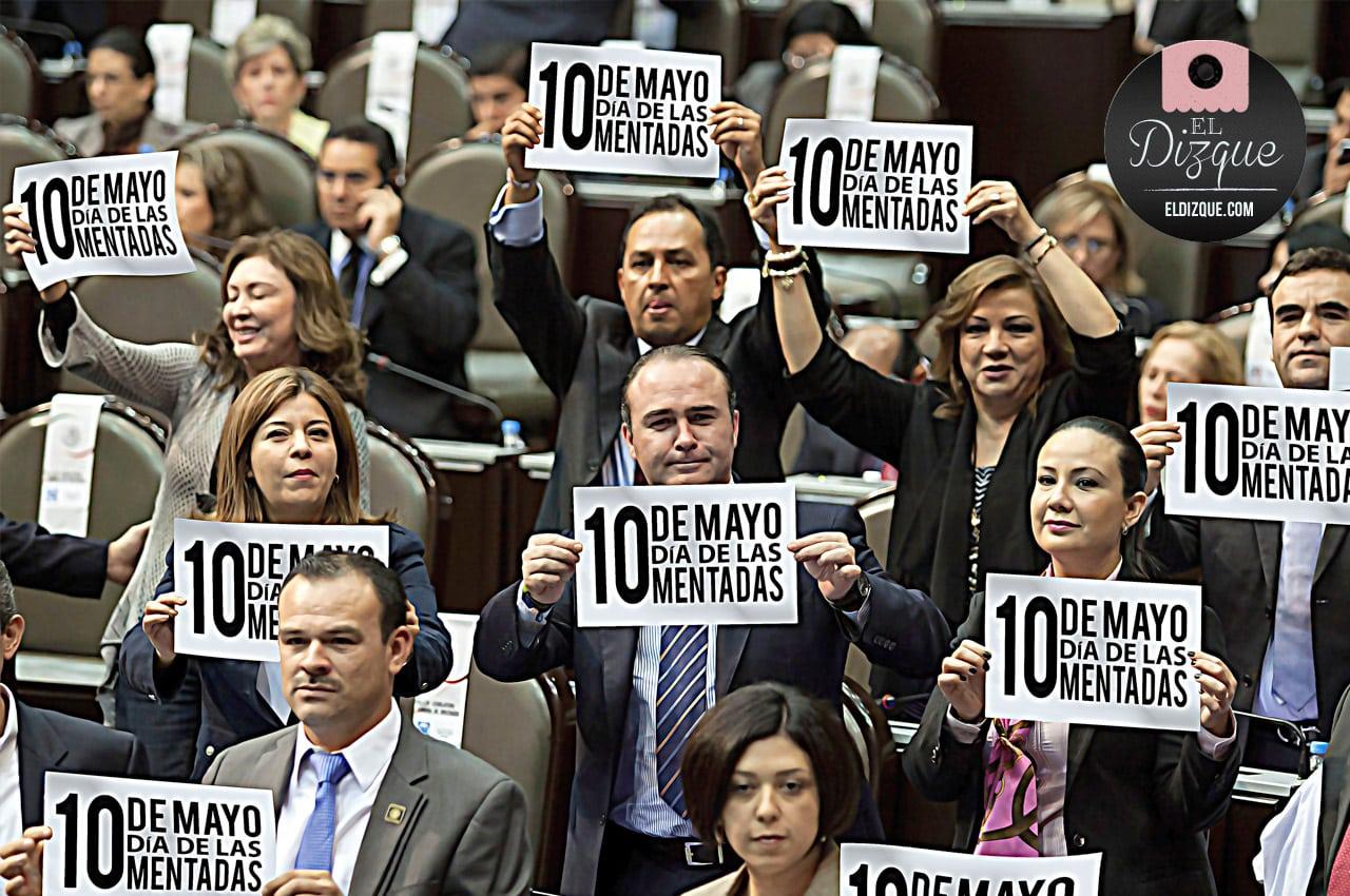 """La Cámara de Diputados laborará este 10 de mayo: """"No tenemos a quién celebrar"""" 2"""