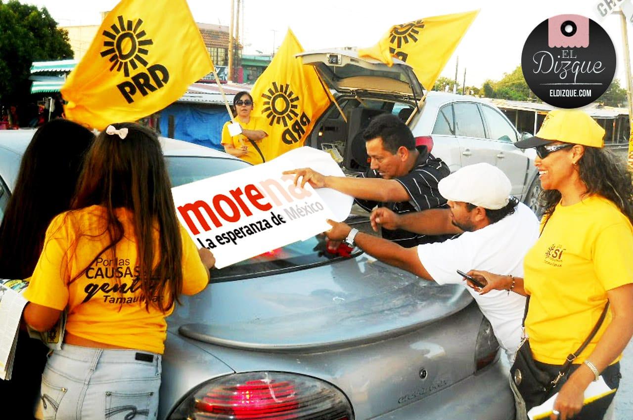 Los perredistas confían en el triunfo de MORENA en las próximas elecciones 5