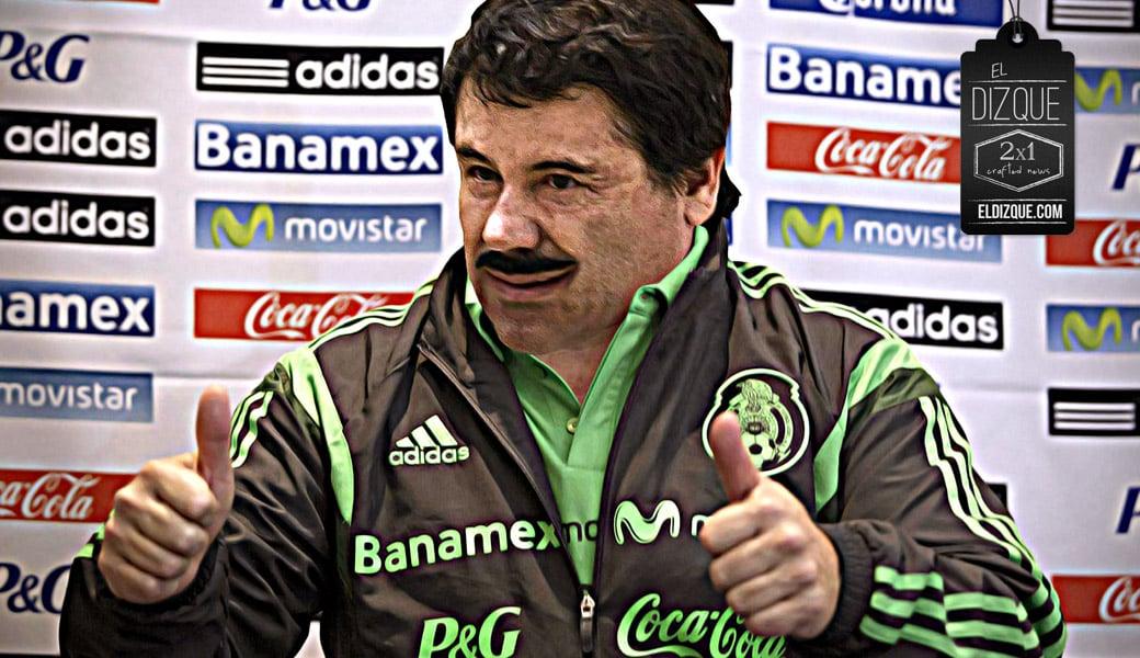 Enrique Peña Nieto propone al Chapo Guzmán como nuevo director técnico de la Selección Mexicana 7