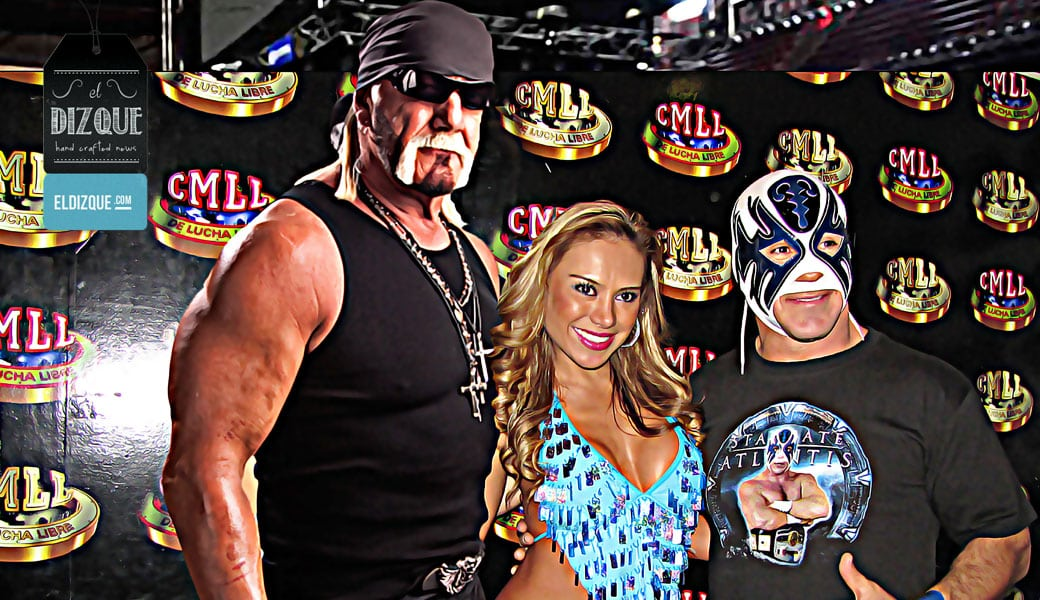 Tras ser despedido de WWE, Hulk Hogan se integra al CMLL 3