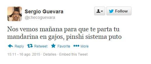 Checo Twitter