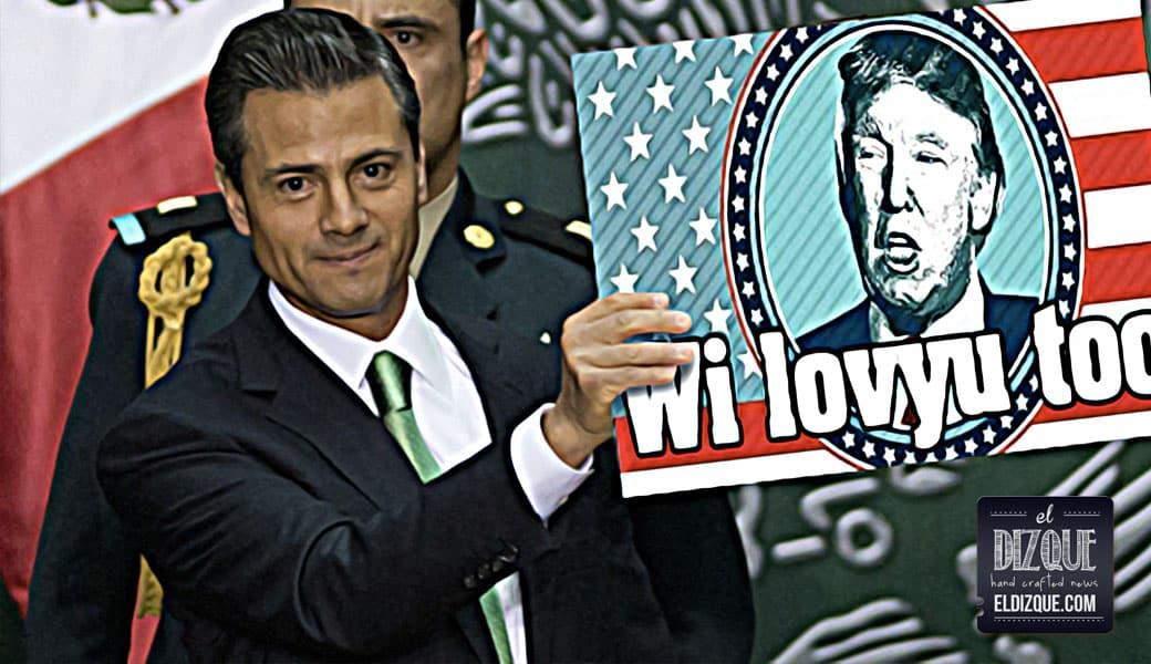 """Enrique Peña Nieto agradece a Donald Trump lo que dijo en el debate: """"¡Qué bonito detalle!"""" 1"""