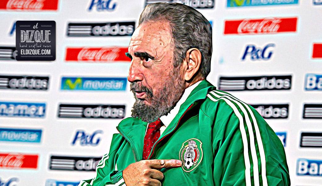 Fidel Castro será el nuevo director técnico de la Selección Mexicana, asegura la Femexfut 16