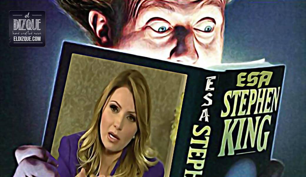 Stephen King escribirá una novela sobre la vida de Angélica Rivera 1