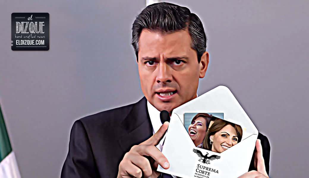 Angélica Rivera y Rosario Robles, en las ternas de Enrique Peña Nieto para las vacantes de ministros de la Suprema Corte 1