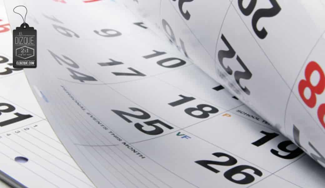 Descubren que el año que inicia será el 2015, y no el 2016 3