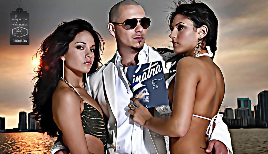 Pitbull adquiere los derechos de las canciones de Frank Sinatra. 1