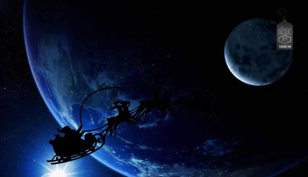 El eje terrestre cambia su inclinación durante la Nochebuena 1