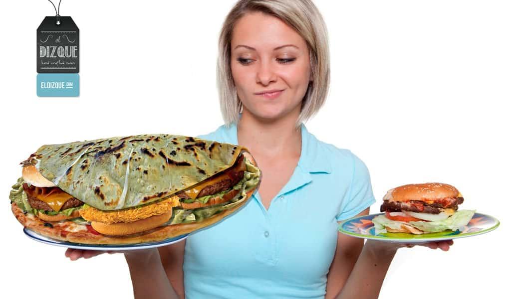 Nace en la Ciudad de México la quesadilla de hamburguesa, pizza y chilaquiles 19
