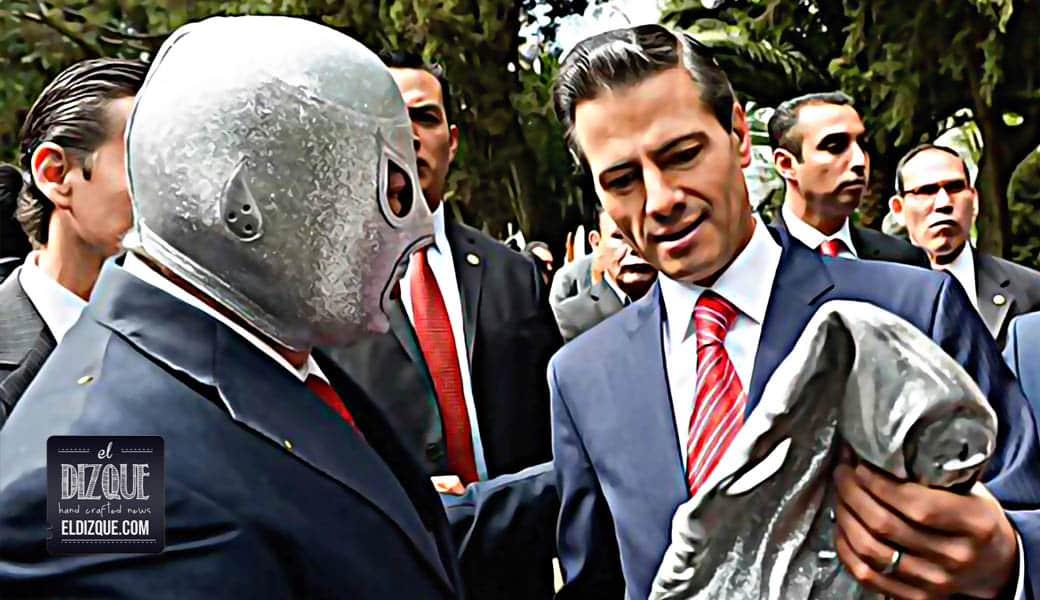 Enrique Peña Nieto participará en la nueva película del Hijo del Santo 17