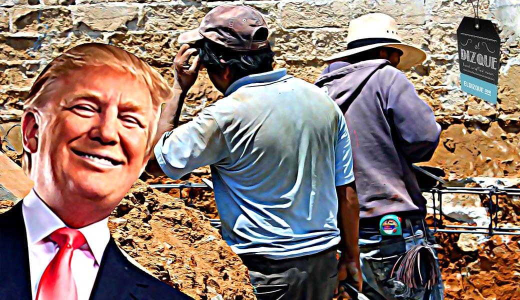 Albañiles mexicanos se ofrecen voluntariamente para hacer el muro fronterizo 5