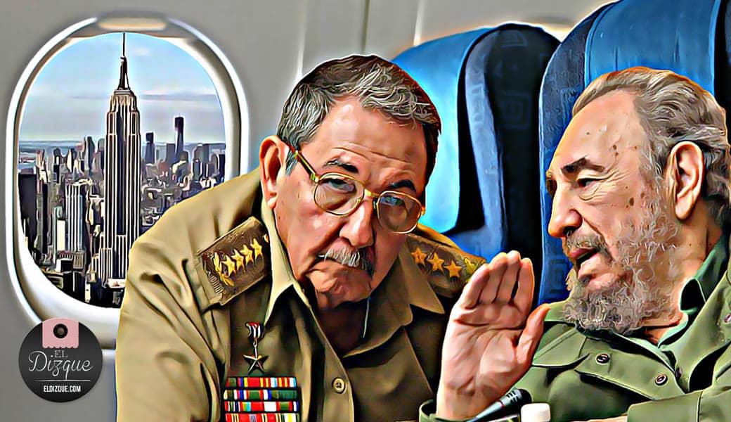 Fidel Castro y Raúl Castro visitarán Estados Unidos — Se teme que no vuelvan 9