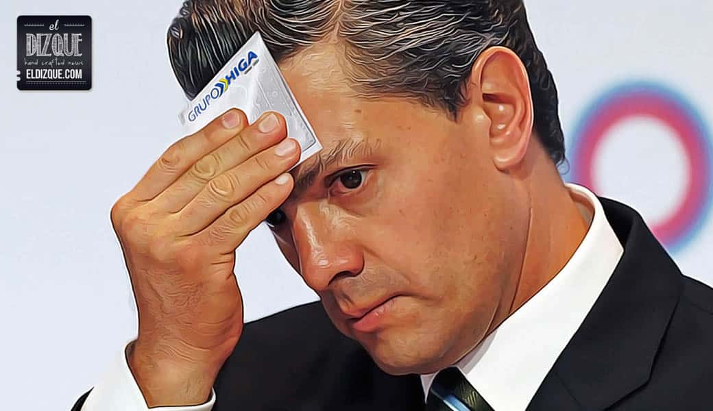 EPN se pronuncia sobre los Papeles de Panamá y anuncia que pintará la Casa Blanca 1